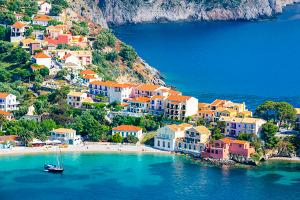 Assos auf der Griechischen Insel Kefalonia