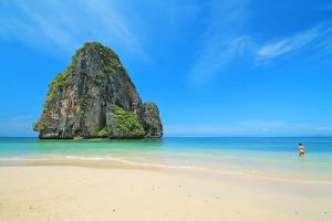 Strand auf Krabi in Thailand